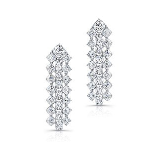 Black Label Diamond Chandelier Earrings