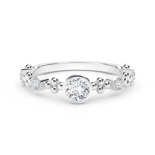 The Forevermark Tribute™ Collection Feminine Diamond Ring