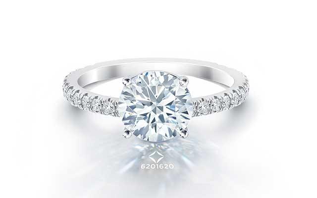 f39ba4b2c23 Classic Diamond Enement Rings Forevermark. Forevermark Round Diamond Rose  Gold Enement Ring 1 3 4ctw Item 19572700 Reeds Jewelers